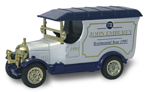 Emburey, John die cast with genuine autograph